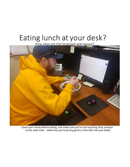 Eating At Your Desk?