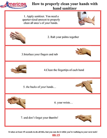 How To Sanitize Hands